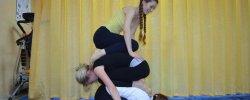 Йога для Начинающих Фото для Двоих Детей