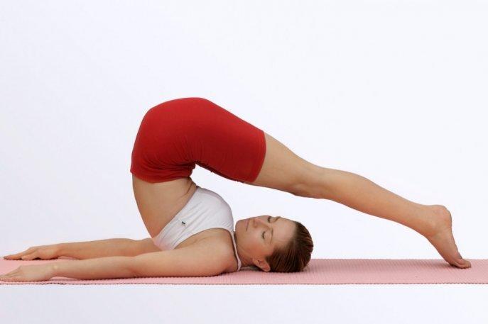 Упражнения йоги для развития